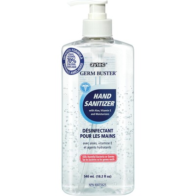 Zytec Germ Buster Clear Gel Hand Sanitizer