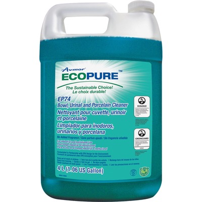 Unisource 2068278001 ECOPURE 4L Toilet Bowl Cleaner EP74 (4/Cs)