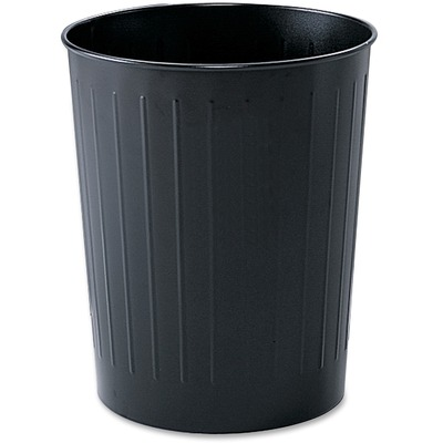 Safco Fire-safe Steel Round Wastebasket