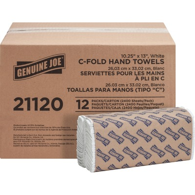 Genuine Joe C-Fold Paper Towels