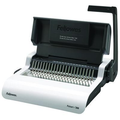 Fellowes Pulsar E Electric Comb Binding Machine with Starter Kit b Binding Machine with Starter  Kit