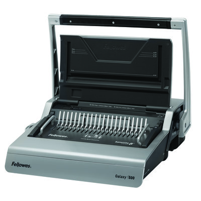 Fellowes Galaxy Comb Binding Machine with Starter Kit achine with Starter Kit