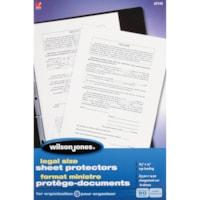 Protège-documents incolores de format légal Wilson Jones