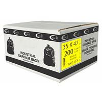 Sacs à ordures Eco II Manufacturing Inc., transparent, régulier, 35po x 47po, caisse de 200