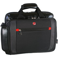 SwissGear Laptop Carrying Case, Black, Fits Laptops up to 15.4
