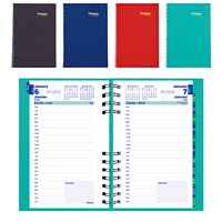 Blueline CoilPro Daily Planner, 8