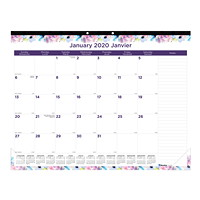Blueline Passion Monthly Desk Pad Calendar, 22