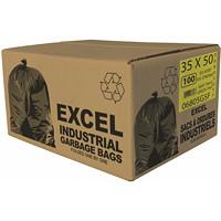 Sacs à ordures Eco II Manufacturing Inc., vert, ultrarobuste, 35po x 50po, caisse de 100