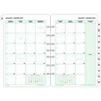 Day-Timer Monthly Planner Refill, 8 1/2