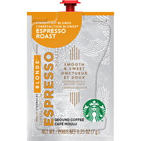 Flavia Starbucks Single-Serve Coffee Freshpacks, Blonde Espresso, 72/CT