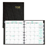 EcoLogix CoilPro Monthly Planner, 8 7/8