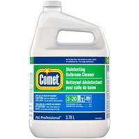 Comet Disinfecting Liquid Bathroom Cleaner, Closed Loop, 3.78 L, 3/CS