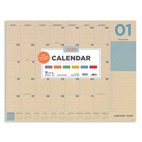 TF Publishing Monthly Desk Pad Calendar, 17