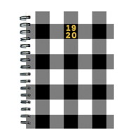 TF Publishing Classic Plaid Academic Weekly Planner, 6 1/2