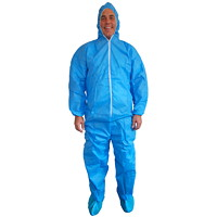 SMS BLUE COVERALL 40 GM  XL
