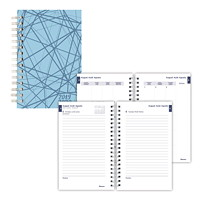Blueline Daily/Monthly Academic Planner, 8