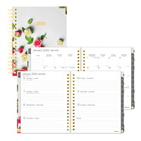 Blueline Romantic Weekly/Monthly Planner, 9 1/4