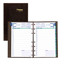 Blueline MiracleBind CoilPro Daily Planner, 8