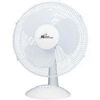 Royal Sovereign Table Fan, White, 16