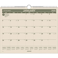 At-A-Glance Monthly Green Living Wall Calendar, 15