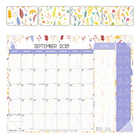 Blueline Academic Colourful Monthly Desk Pad, 22