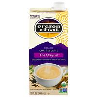 Oregon Chai Organic Chai Tea Latte Tetra Pack, The Original, 946 mL, 6/BX