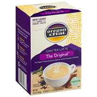 Oregon Chai Organic Chai Tea Latte, The Original, 8 Packets/BX
