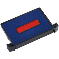 Trodat Replacement Blue/Red Ink Pad