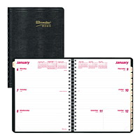 Brownline Coil-Bound Weekly Planner, 8 1/2