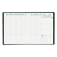 Quo Vadis Trinote Refillable Weekly Planner, 7 1/4
