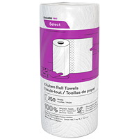 Cascades PRO Select 2-Ply Paper Towels, White, 250 Sheets/RL, 12/CS