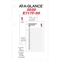 At-A-Glance Daily Desk Calendar Refill, 6