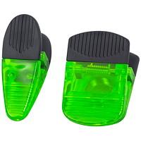 Merangue Heavy-Duty Magnetic Clips, Green, 2/PK