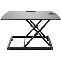 Exponent Portable Sit-Stand Desk, Black