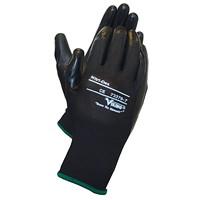 Viking 73376 Nitri-Dex Work Gloves, Black, Small, 1 Pair