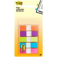 Languettes adhésives à couleurs vives de 1/2 po On-the-Go Post-it
