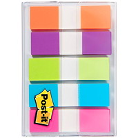 Languettes adhésives à couleurs vives de 1/2 po On-the-Go Post-it