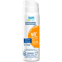 SunZone Work SPF50+ Mini Sunscreen Spray, 50 mL