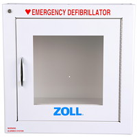 Armoire murale en métal avec alarme AED Plus ZOLL, 9po