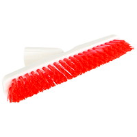 Globe Commercial Products Swivel Tile and Grout Brush, White/Red