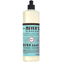 Mrs. Meyer's Clean Day Dish Soap, Basil Scent, 473 mL