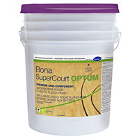Diversey Bona SuperCourt OPTUM Waterborne Wood Athletic Floor Finish, 5 Gallon