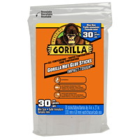Gorilla Hot Glue Sticks, Mini Size, 4