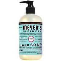 Savon pour les mains Clean Day Mrs.Meyer's, parfum de basilic, 370ml