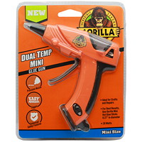 Gorilla Dual-Temp Mini Hot Glue Gun