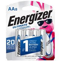 Piles Ultimate Lithium Energizer AA, emb. de 8