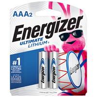 Piles Ultimate Lithium Energizer AAA, emb. de 2