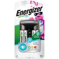 Chargeur Pro Energizer Recharge avec 4piles AA NiMH rechargeables