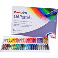 Pastels à l'huile Pentel Arts, emb. de 50