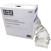 Edge Prefilled Packing Air Pillows with Dispenser Box, 8